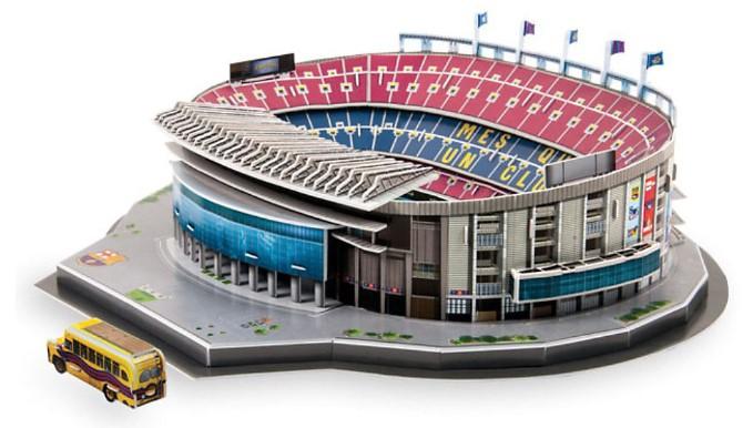 3D Puzzle Stadion Camp Nou in Barcelona