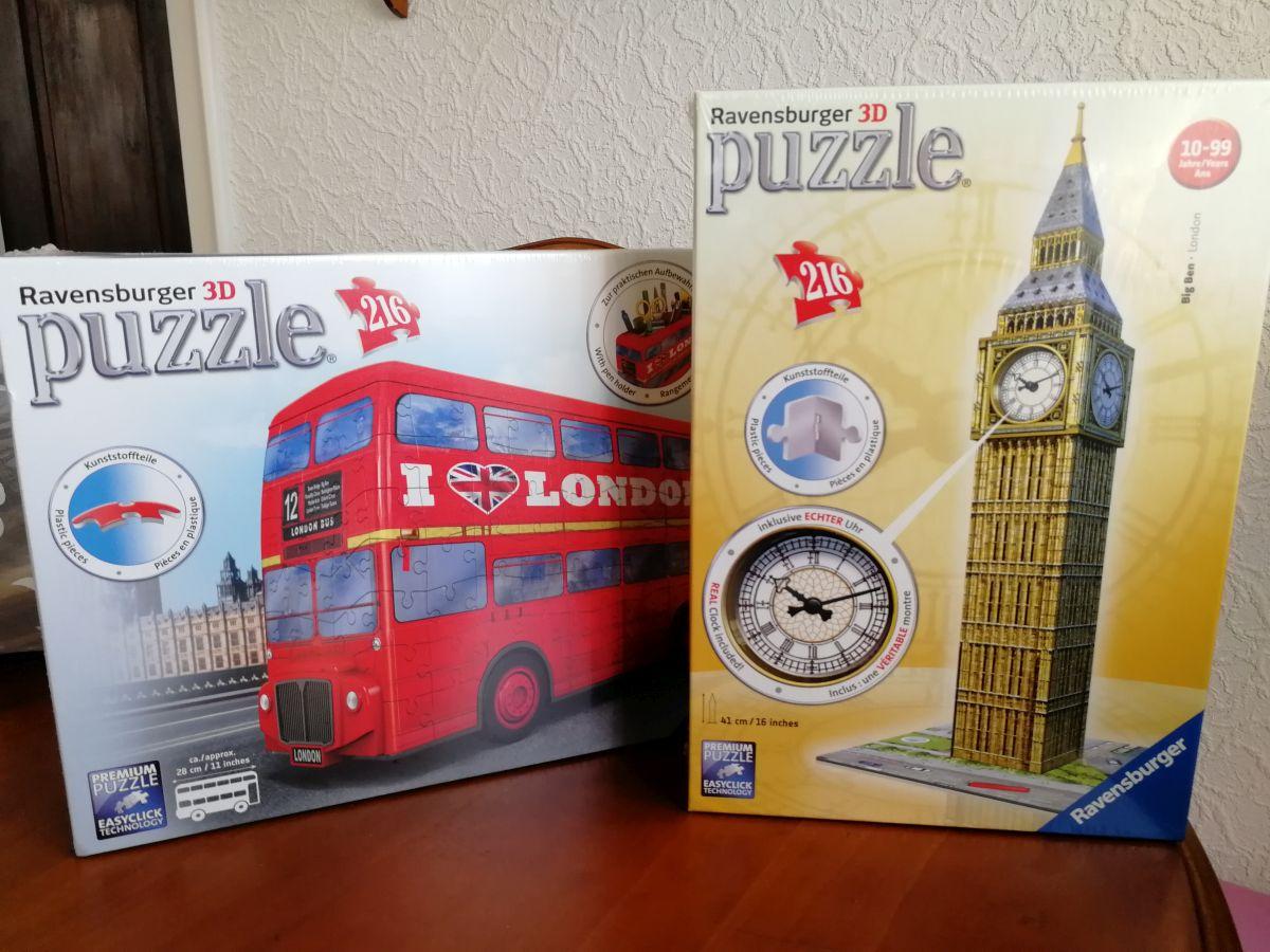 Meine 3D Puzzle