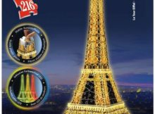Ravensburger 3D Puzzle Night Edition Eiffelturm