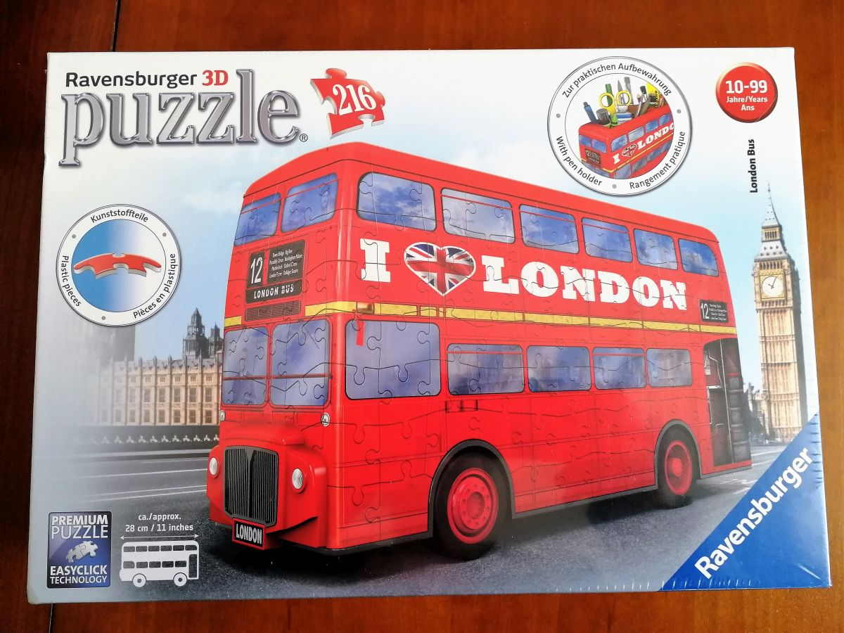 Ravensburger London Bus 3D Puzzle
