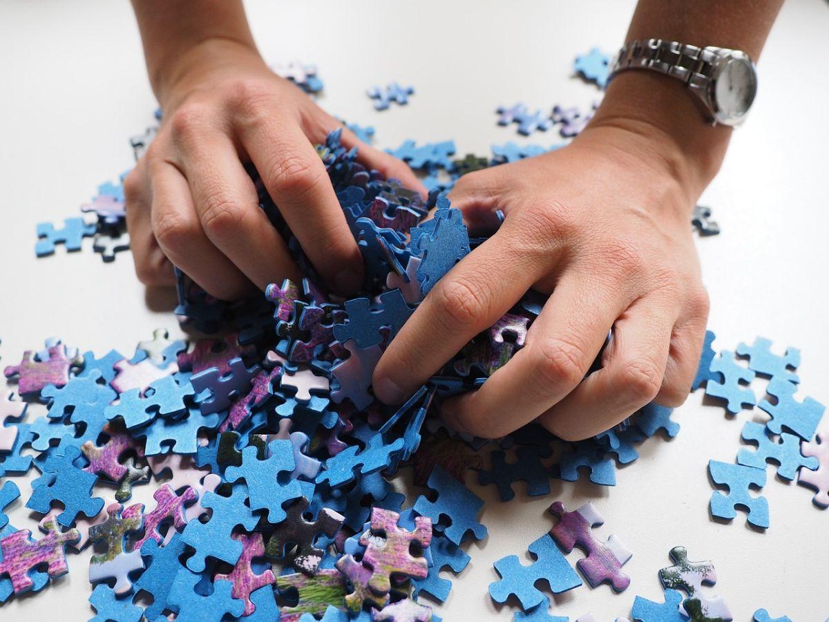 Klassisches Puzzle