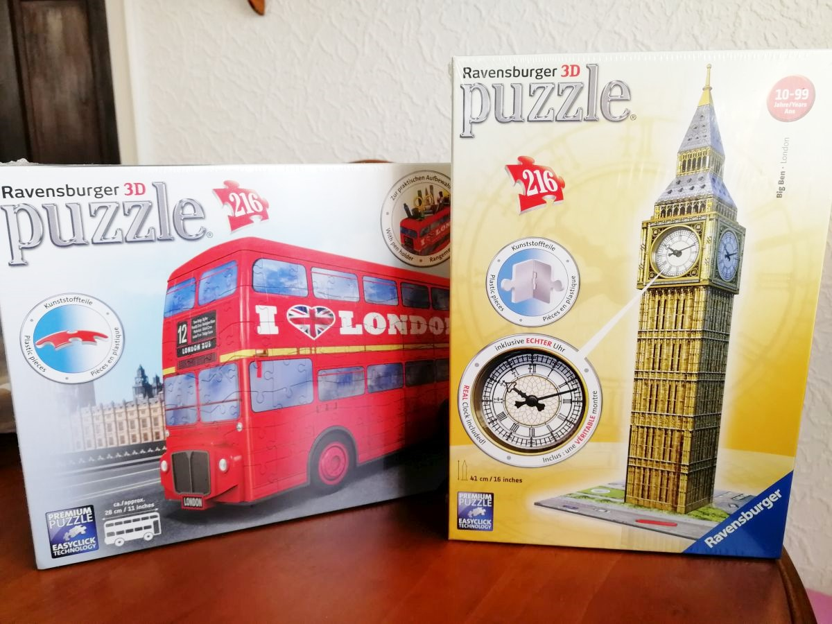 2 Ravensburger 3D Puzzles