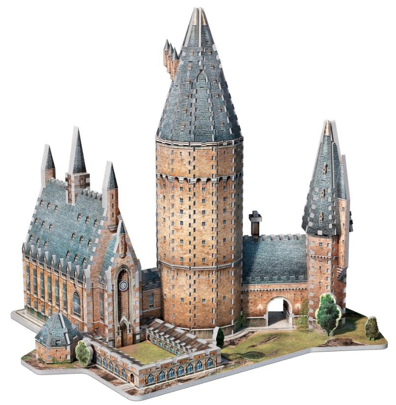 Wrebbit 3D Puzzle Hogwarts Große Halle