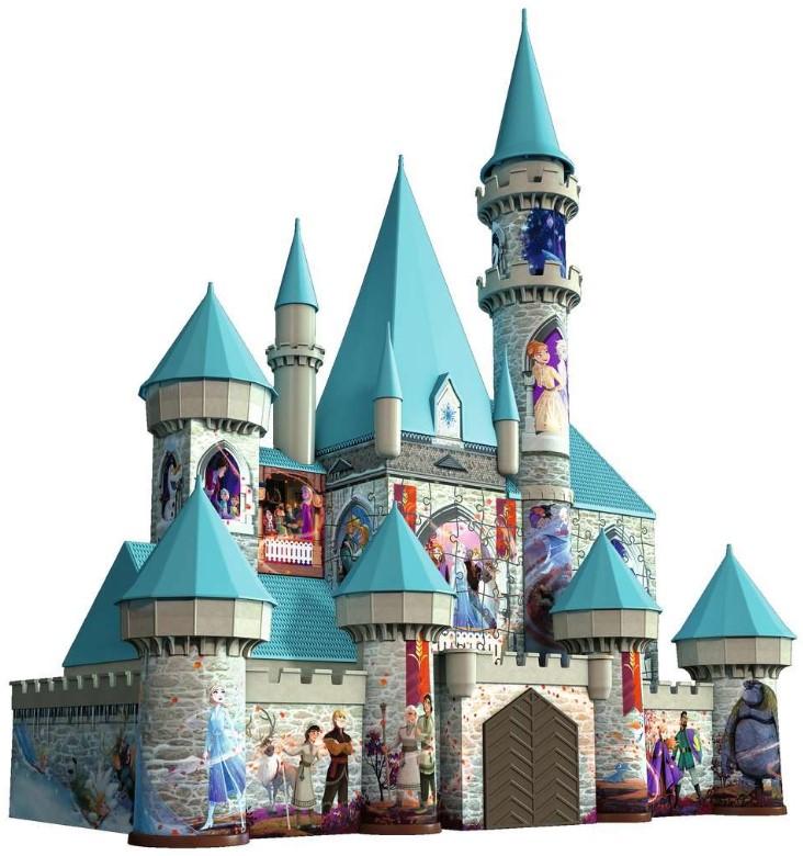 Ravensburger 3D-Puzzle Disney Schloss aus Frozen 2