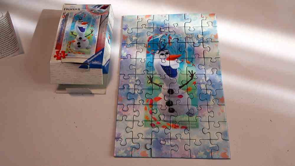 Puzzle Disney Eiskönigin II Olaf fertig