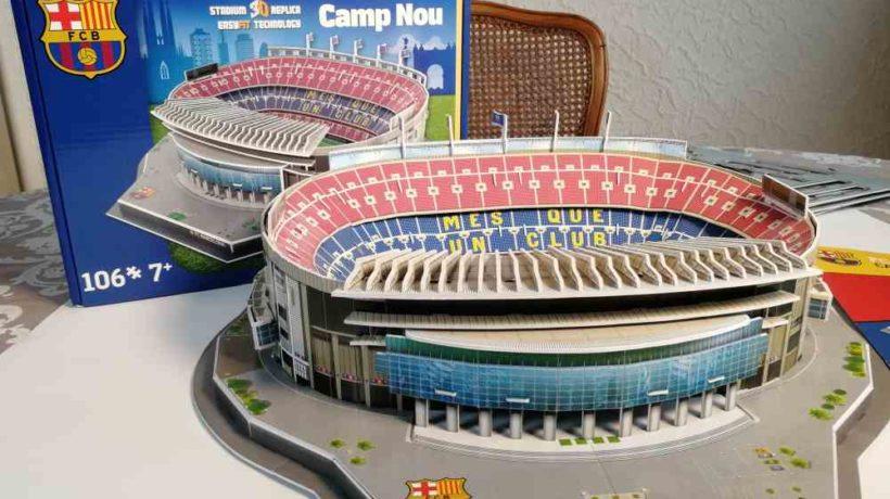 3d Puzzle Stadion Camp Nou Nanostad