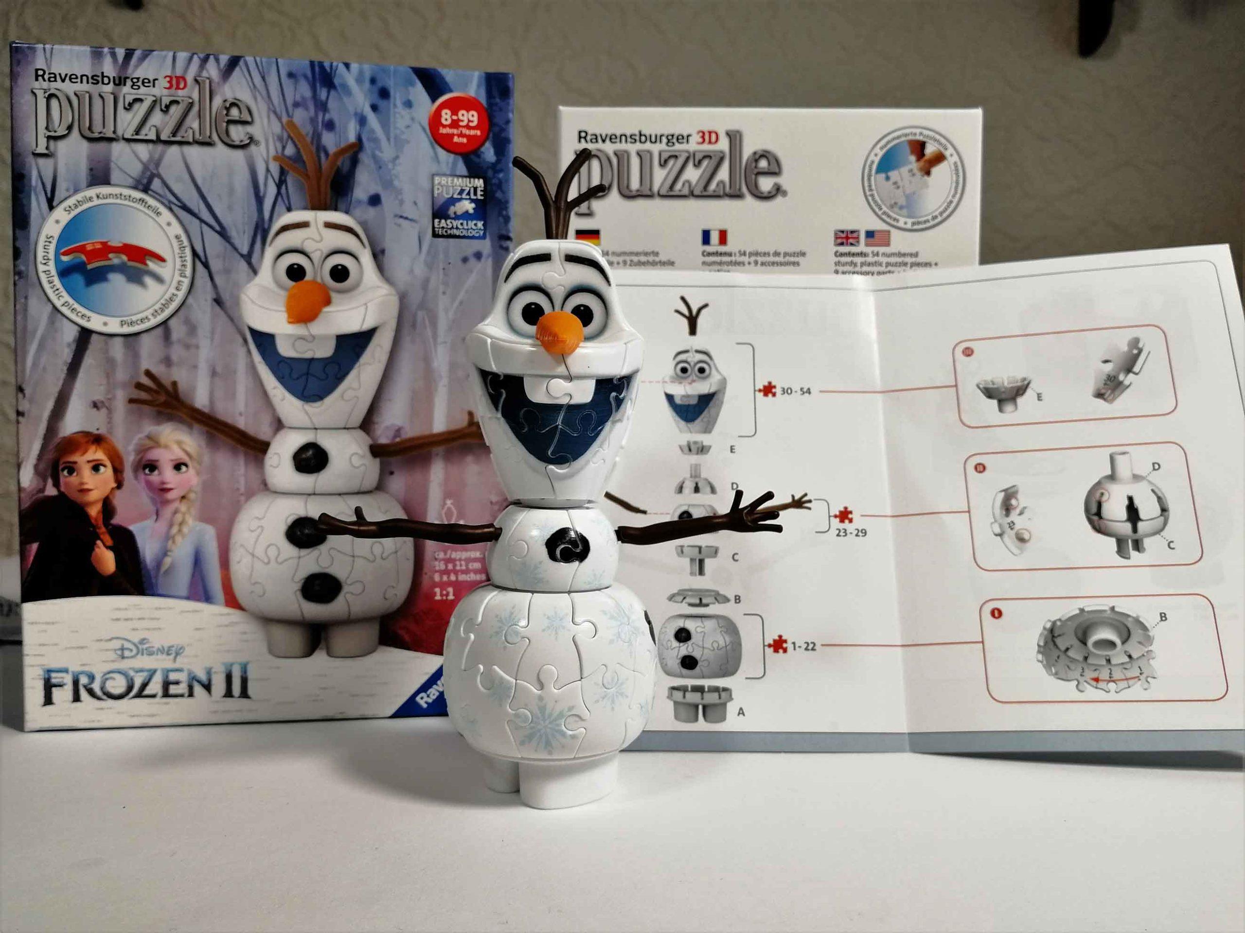 Ravensburger 3D Puzzle Olaf