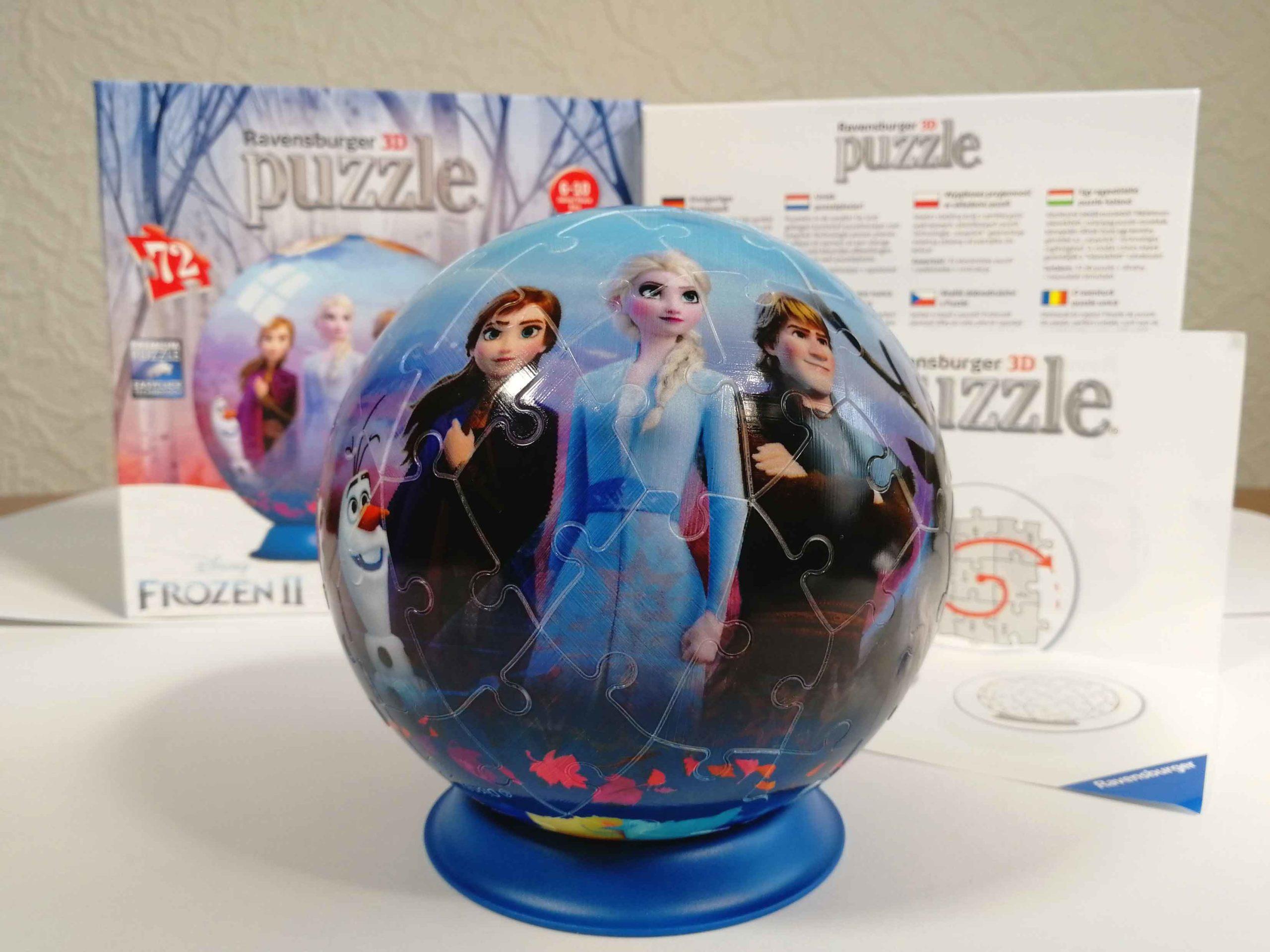 Ravensburger 3D Puzzle-Ball Frozen 2