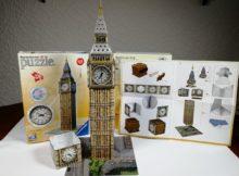 Ravensburger 3D-Puzzle Big Ben fertig