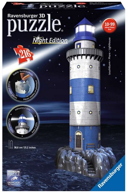 Ravensburger Leuchtturm Night Edition