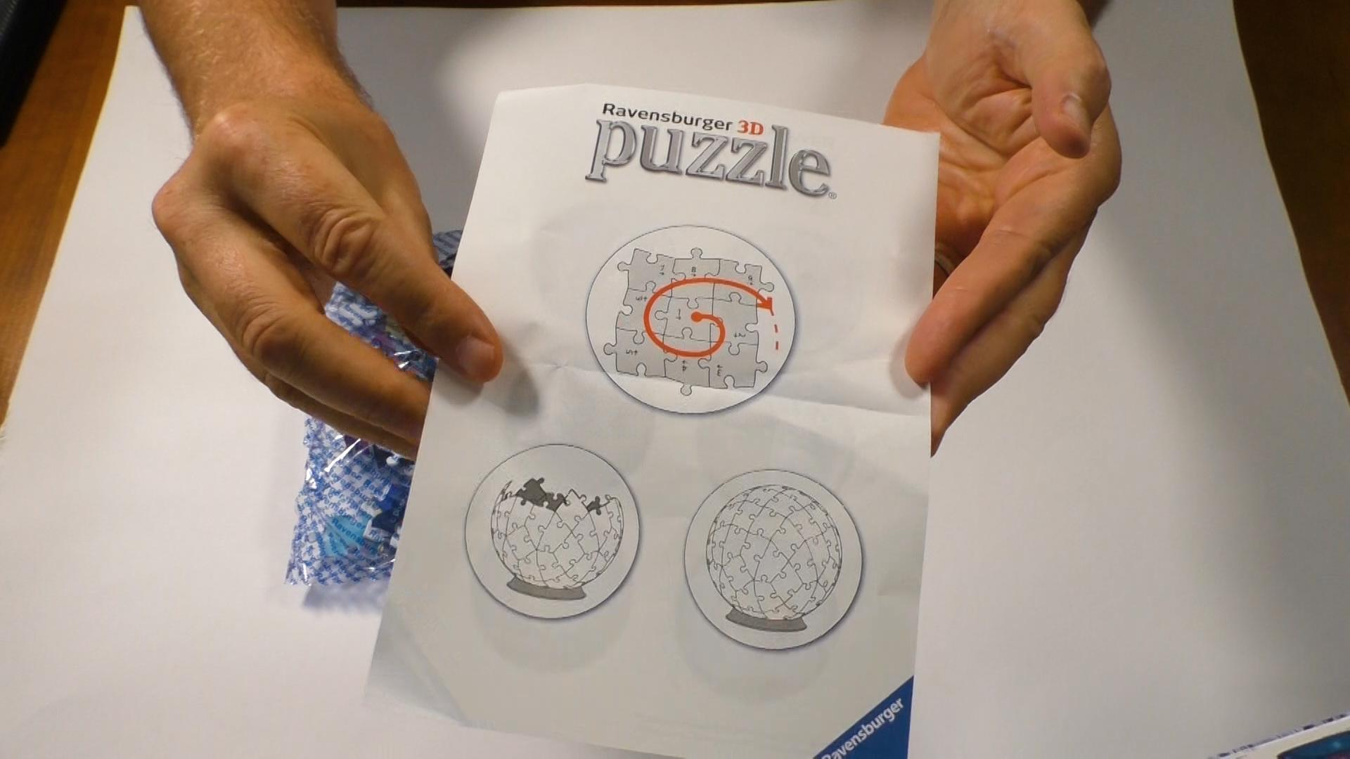 3D Puzzle Anleitung